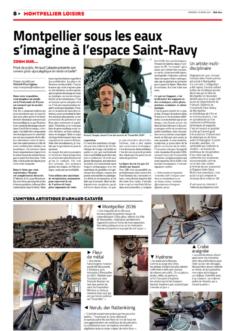 Go art article midi libre 2306 ensemble